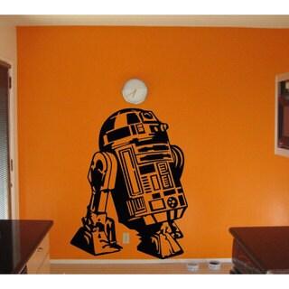 Full Color R2-D2 Huge Wall Sticker, Star Wars Wall Decal, Wall Art, R2-D2 Wall Decor Sticker Decal size 44x60 23868193
