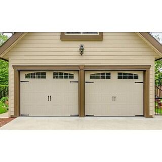 Hinge-It Magnetic Black Decorative Garage Door Accents