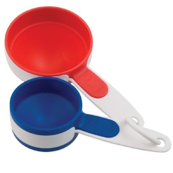 Bradshaw Plastic Flip Measuring Cups (Set of 2) 23870854