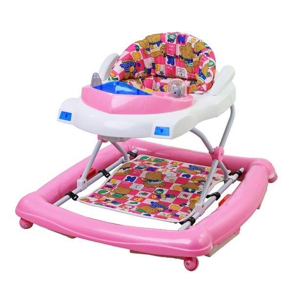 Dream On Me Pink Plastic Rock and Roll Rocker Walker 23871177