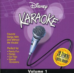 Disney's Karaoke Series - Disney Karaoke Volume 1