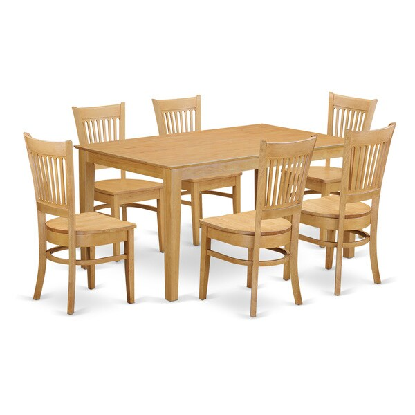 dining room set kitchen dinette table and 6 dining room chairs