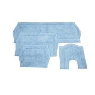 Waterford 4-Piece Bath Rug Set