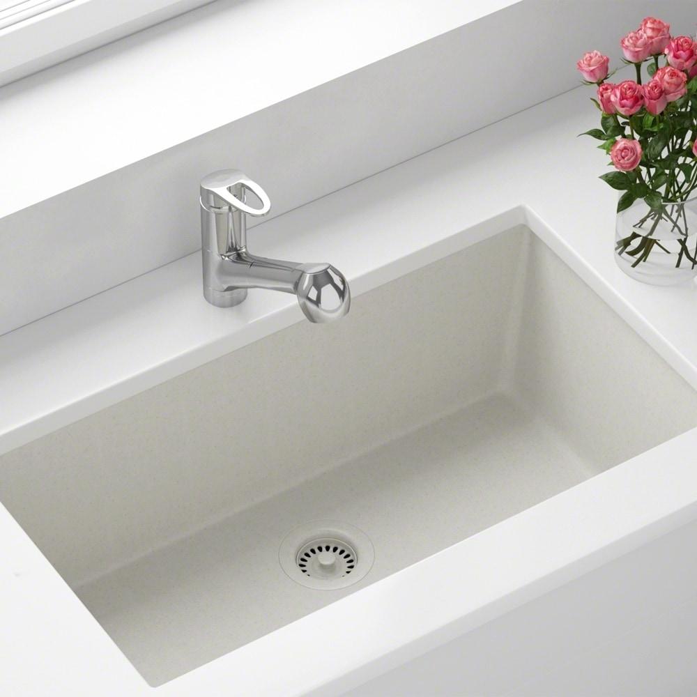 Acrylic kitchen sinks sears mr direct 848 white quartz sink strainer workwithnaturefo