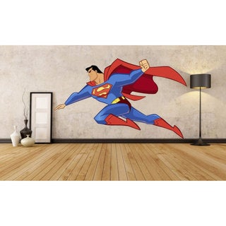 Full Color Superman Full Color Decal, Superman Full color sticker, Superman wall art  Sticker Decal size 33x39