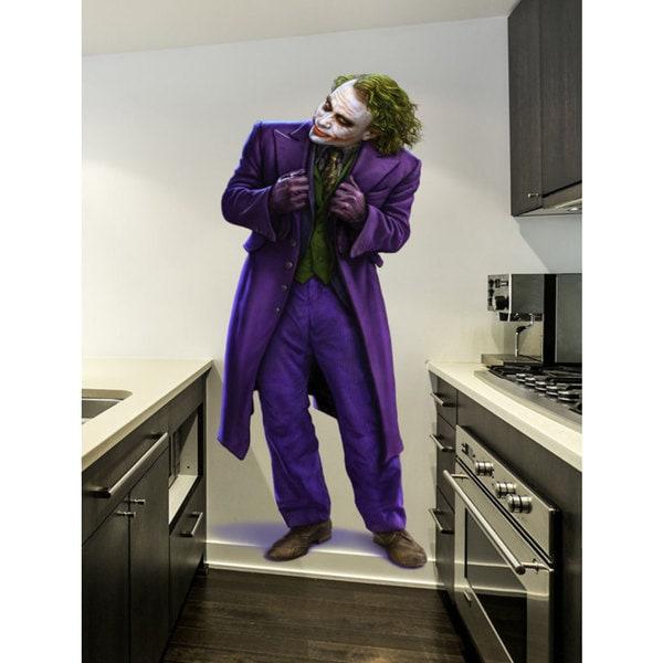 Full Color Joker Full Color Decal, Joker Full Color Sticker, Joker wall art Sticker Decal size 33x52