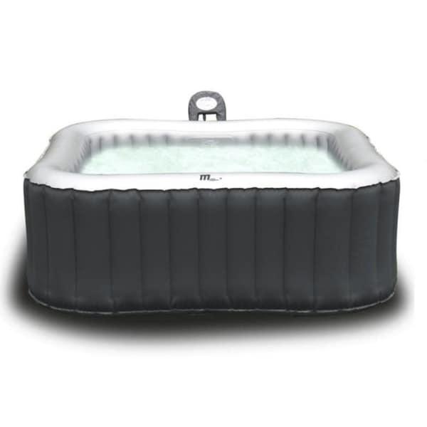 MSPA Alpine Hot Tub, 6 Person Grey Inflatable Bubble Spa / M-019LS 23929730