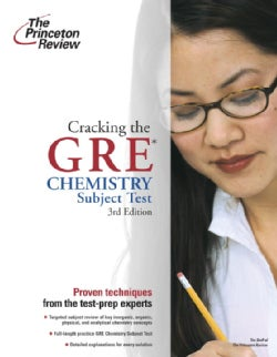 Cracking The Gre Chemistry Subject Test (Paperback)