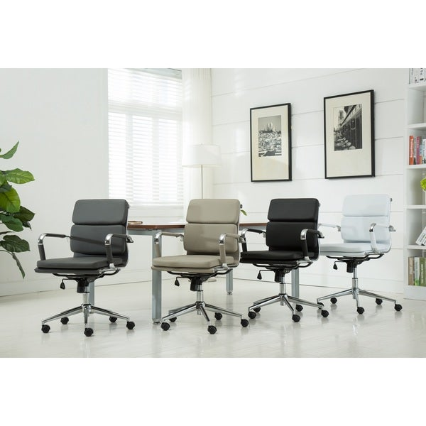Modica Chromel Contemporary Low Back Office Chair 23951870