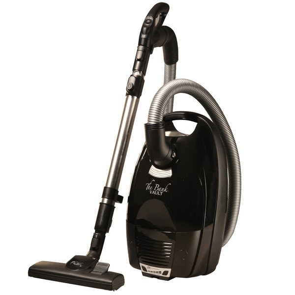 The BANK Vault German Barefoot Clean HEPA Filtration Canister Vacuum 23955028
