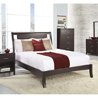 Floating Panel Full-size Sleigh Bed