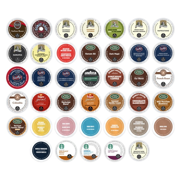 K-Cup Coffee Variety Pack, Selection of the Best Coffees in the World, 40 Count 23961902