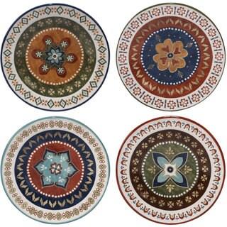 Certified International Monterrey 8.75-inch Dessert Plates (Set of 4)