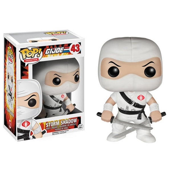 Funko POP GI Joe Storm Shadow Vinyl Figure 24002097