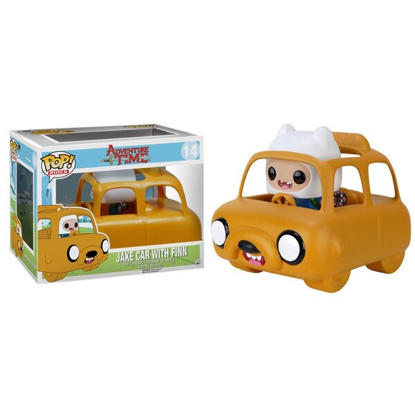 Funko POP Rides Adventure Tim Jake Car with Finn Vinyl Figure 24002131