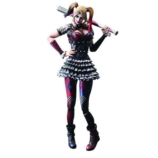 Square Enix Batman Arkham Knight Play Arts Harley Quinn Action Figure 24002173