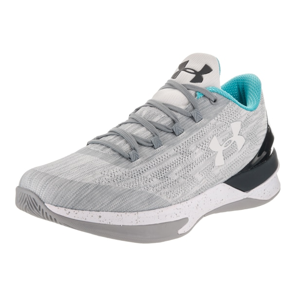 Under Armour Men's Charged Controller Grey Textile Basketball Shoes 24011206