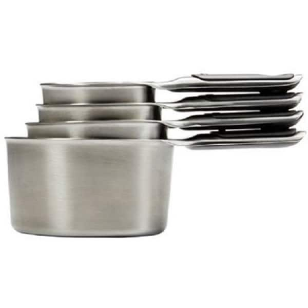 OXO Good Grips Stainless Steel Magnetic-snap Measuring Cups 24011935