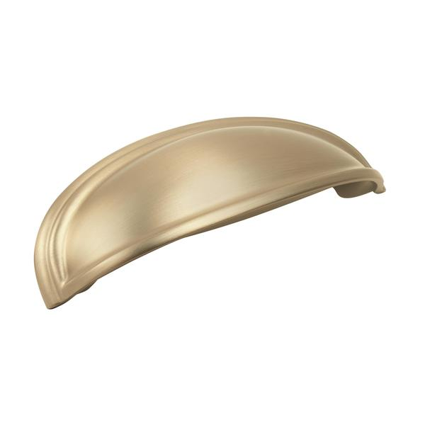 Amerock Ashby Golden Champagne 3-inch/ 4-inch Center Cup Pull 24013607