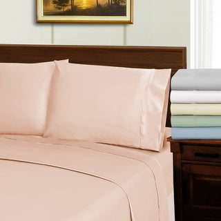 Superior 1000 Thread Count Wrinkle Resistant Soft Tencel Blend Bed Sheet Set