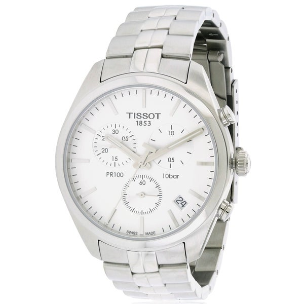 Tissot PR100 Stainless Steel Chronograph Men's Watch 24063882