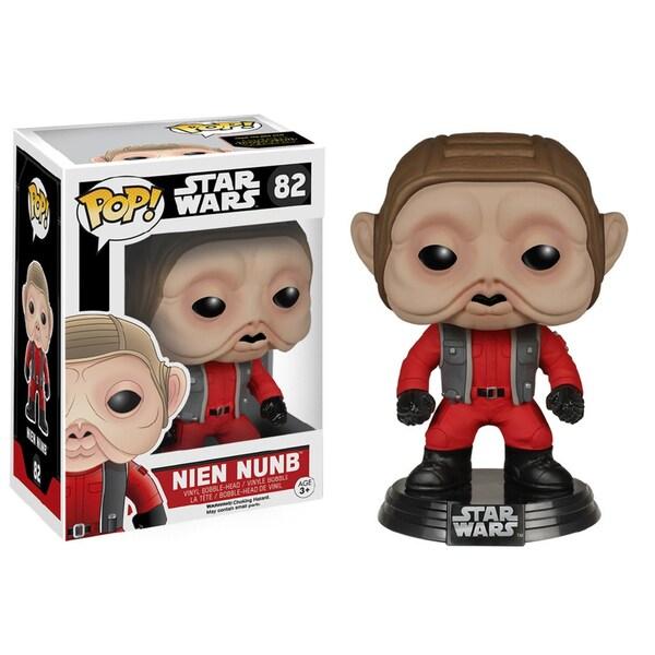 Funko POP Star Wars The Force Awakens Nien Nunb Vinyl Figure 24064124
