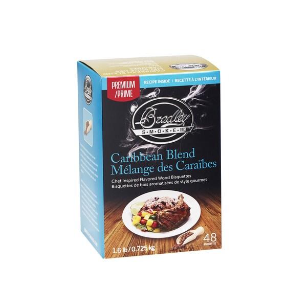 Bradley Premium Bisquettes - Caribbean Blend (48 Pack) 24070792