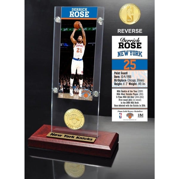 Derrick Rose Ticket Acrylic Desk Top 24072132