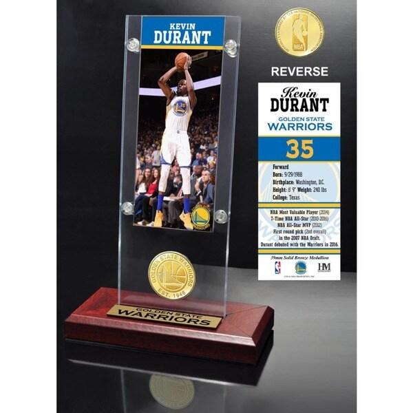 Kevin Durant Ticket Acrylic Desk Top 24072150