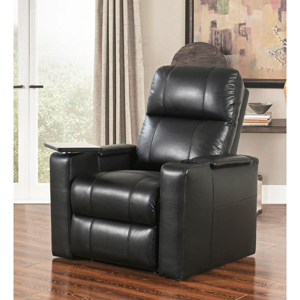 Abbyson Rider Leather Theater Recliner 30495152