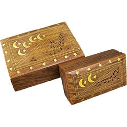 Moon Star Two-piece Jewelry Box Set (India)