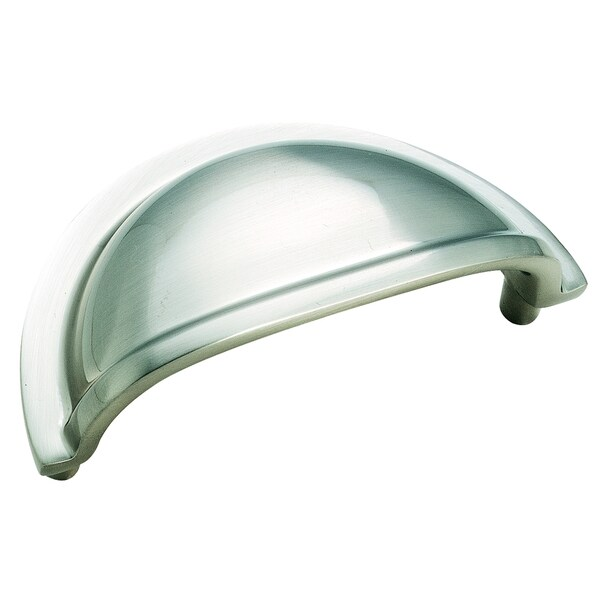Solid Brass Cup Pulls Sterling Nickel 3-inch (76mm) Center Cup Pull 24098788