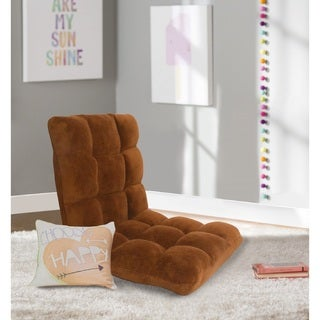 Chic Home Armless Quilted Recliner Chair, Brown