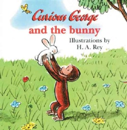 Curious George and the Bunny (Board book)