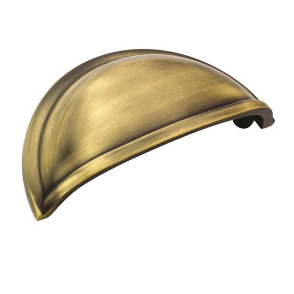 Cup Pulls Collection Elegant Brass 3-inch (76mm) Center Cup Pull 24128476