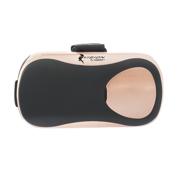 Zvision Virtual Reality Headset, Turn Any Smartphone Into A Virtual Reality World  Rose Gold 24129231