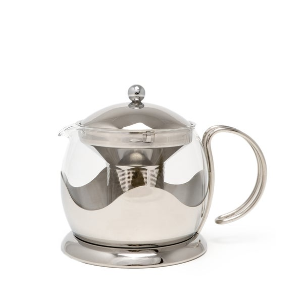 La Cafetiere Stainless Steel 4-cup Teapot 24136449