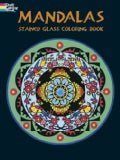 Mandalas Stained Glass Coloring Book (Paperback)