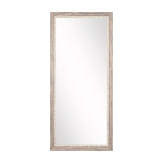 BrandtWorks Weathered Beach Framed Floor Mirror - Multi