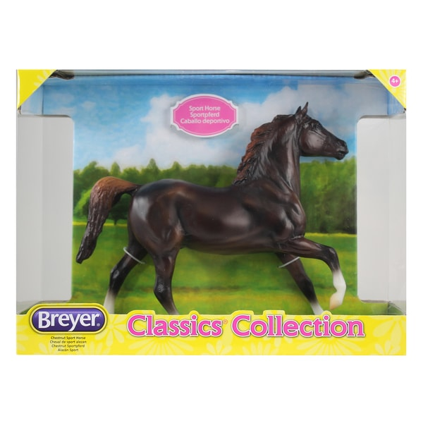 Breyer Classics Chestnut Plastic Sport Horse 24163202