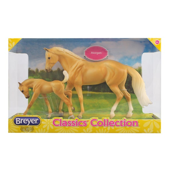 Breyer Classics Palomino Quarter Horse and Foal Set 24163749