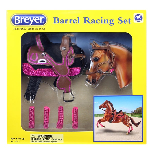Breyer Traditional Series Barrel Racing Plastic Tack Set 24163811