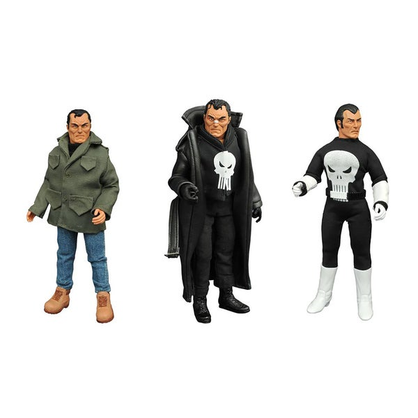 Diamond Select Toys Marvel Punisher 8-inch Retro Action Figure Set 24164068