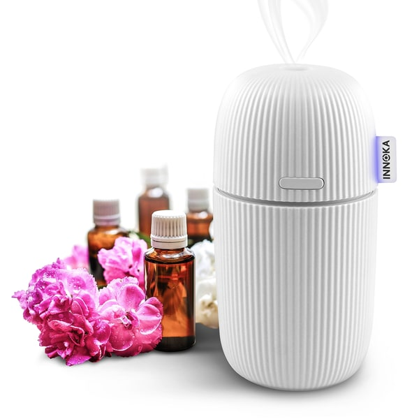 INNOKA Ultrasonic 110ml Portable USB Aroma Fragrance Essential Oil Diffuser for Humidification/ Aromatherapy 24168976