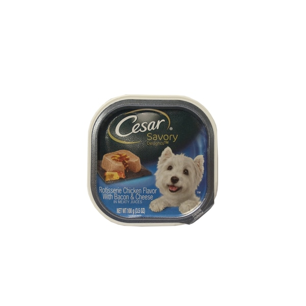 Cesar Savory Delights Rotisserie Chicken Canine Cuisine 24174866