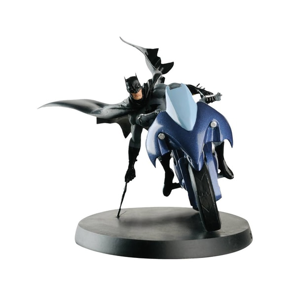 Diamond Select Toys DC Superhero Best Of Figurine Special #1 Batman Batcycle 24176387