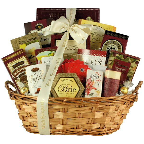 With Deepest Sympathy: Condolence Gift Basket 24192791