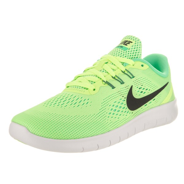 Nike Kid's Free Rn (GS) Green Running Shoes 24221175