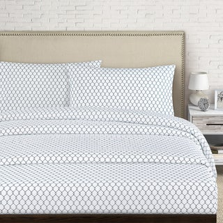 Fence 250 Thread Count Cotton Percale Bed Sheet Set