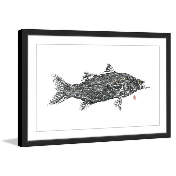 'Predator' Framed Painting Print 24227964